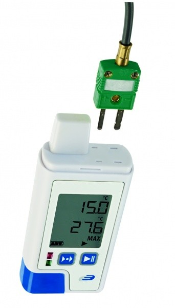 5005-0204 - USB-Temperaturlogger, 2 ext. Thermoelemente
