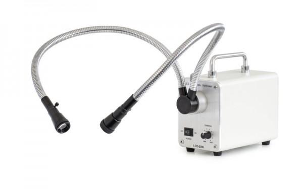 OZB-A4516 - Doppel-Schwanenhals LED Beleuchtung 20w